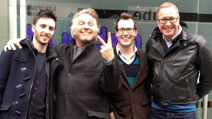 Ian Ravenscroft, Rik Mayall, Louis Hudson, & Ed Bye